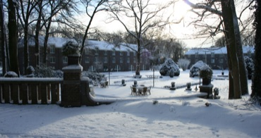 Hotel Landgoed Ehzerwold in de winter