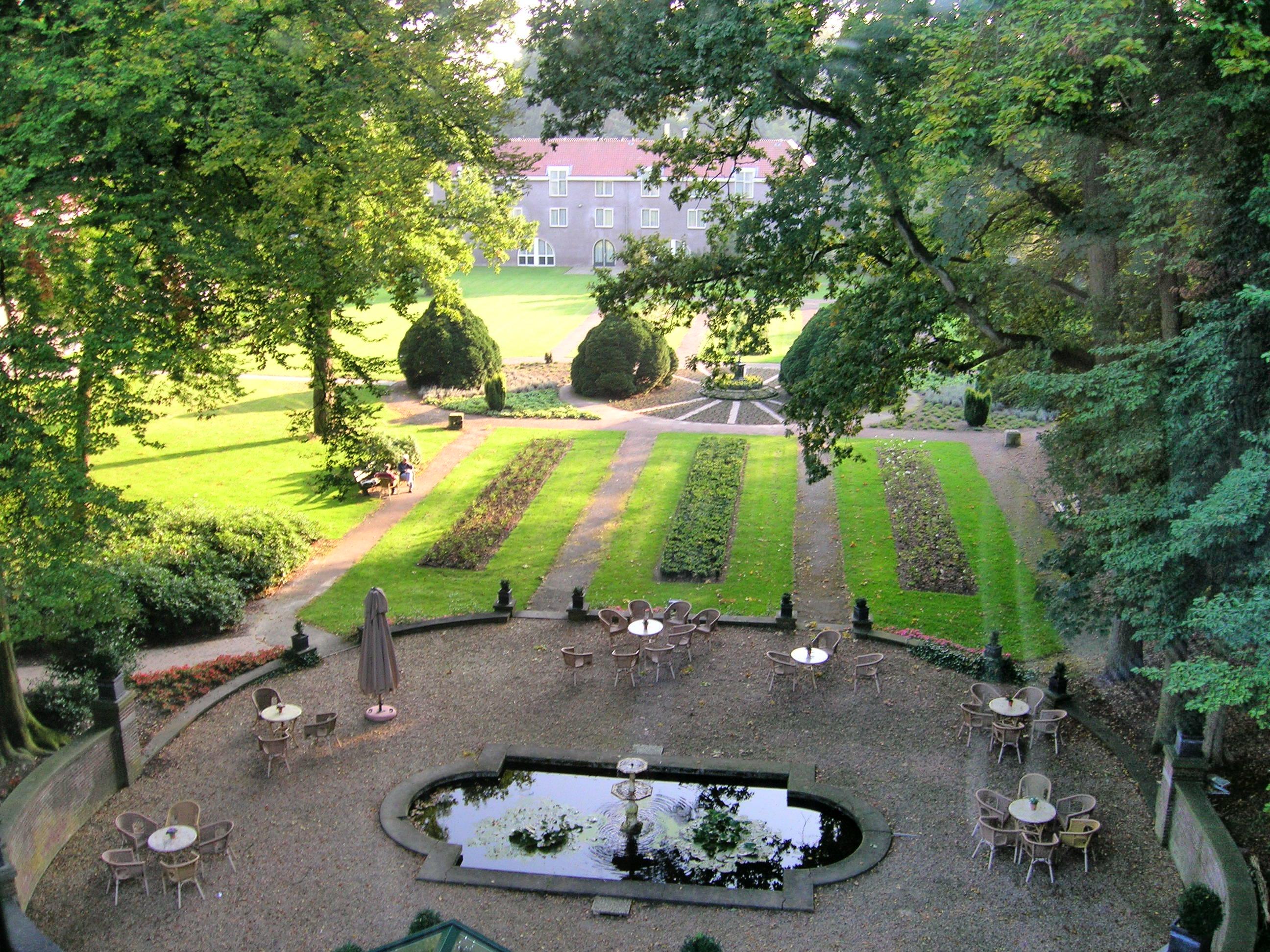 Parktuin van Hotel Landgoed Ehzerwold in Almen