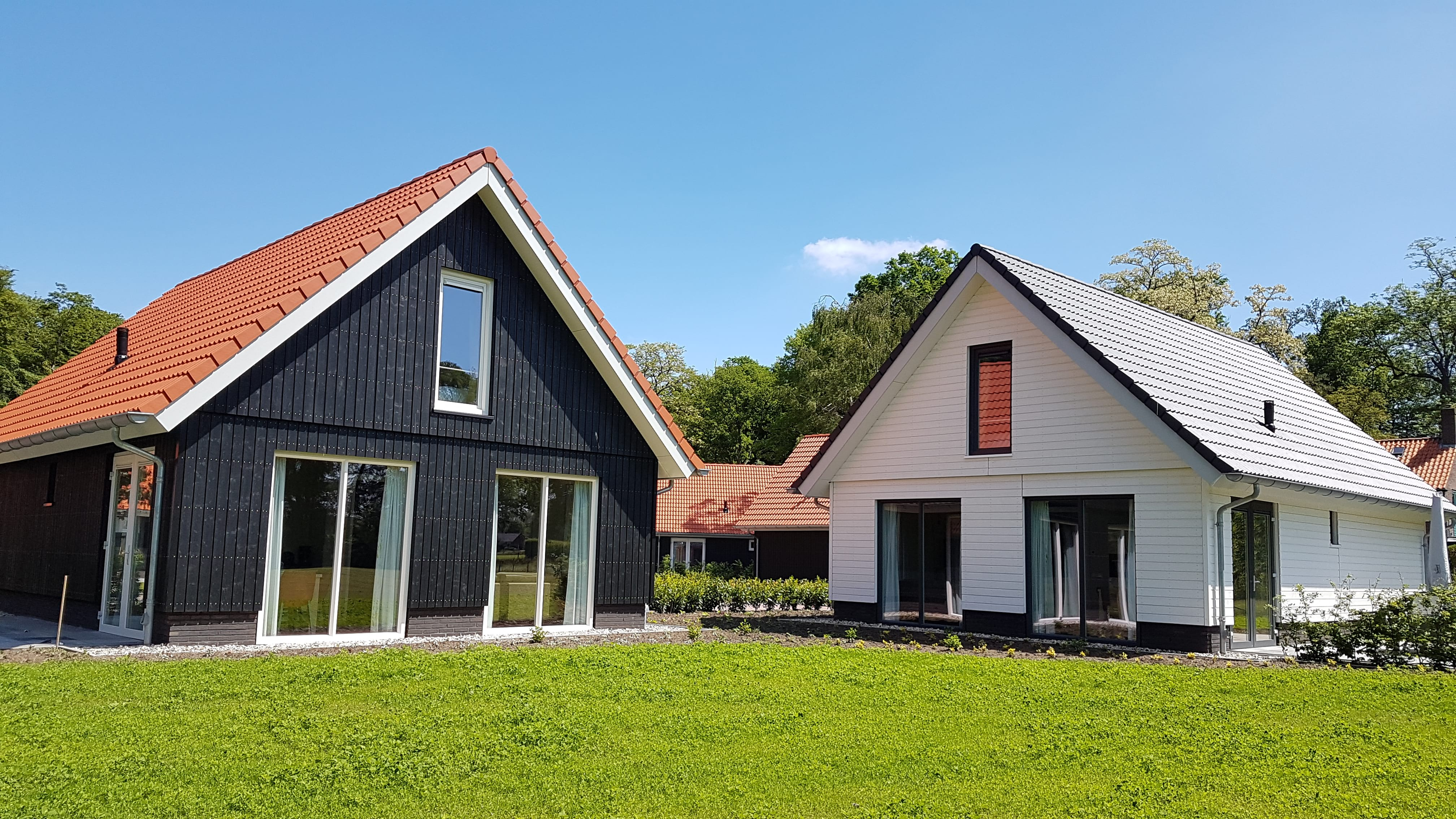 Verschillende Villa's bij Villapark Ehzerburg