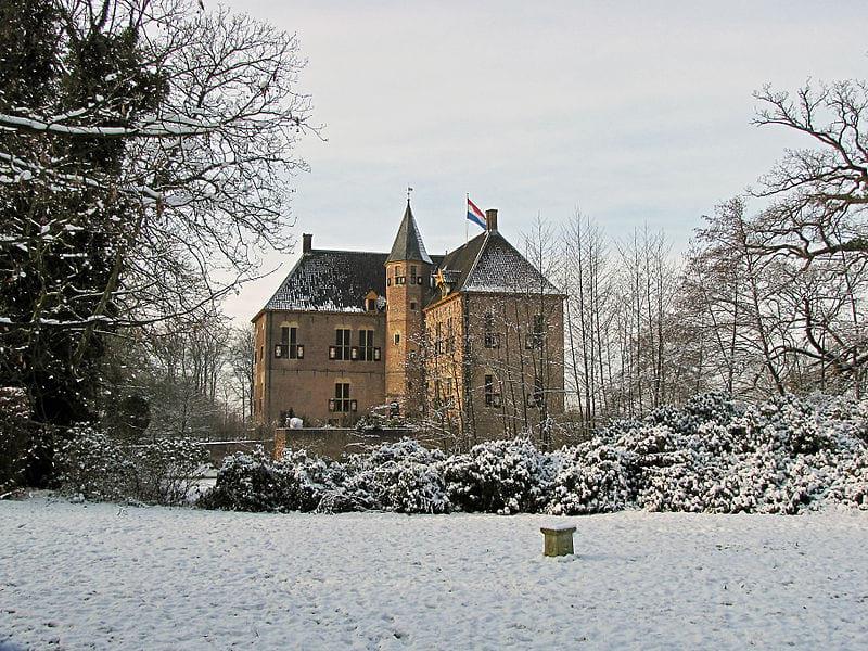 Kasteel Vorden in de Winter