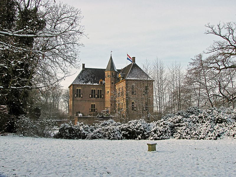 Kasteel Vorden in de Winter